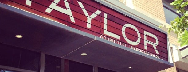 Taylor Gourmet is one of Washington DC.