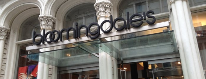 Bloomingdale's is one of Places to go when in New York.