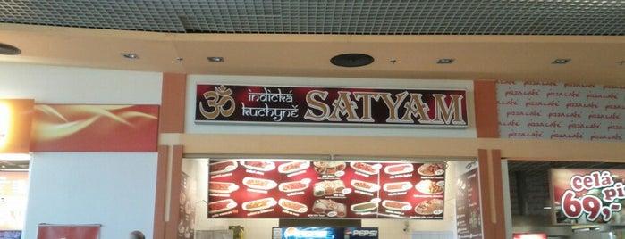 Satyam is one of Tempat yang Disukai Jana.