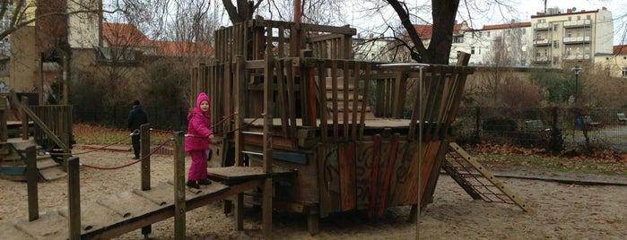 Spielplatz im Park am Weissensee is one of Playgrounds in Berlin.