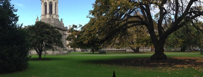 Trinity College | Nassau Street Gate is one of When you travel.....