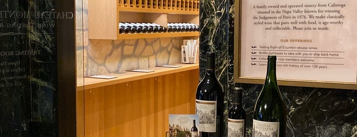 Chateau Montelena Tasting Room is one of San Francisco City Guide.