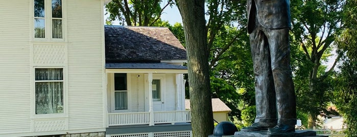 Ronald Reagan Boyhood Home is one of Places To Go Autumn 2020.