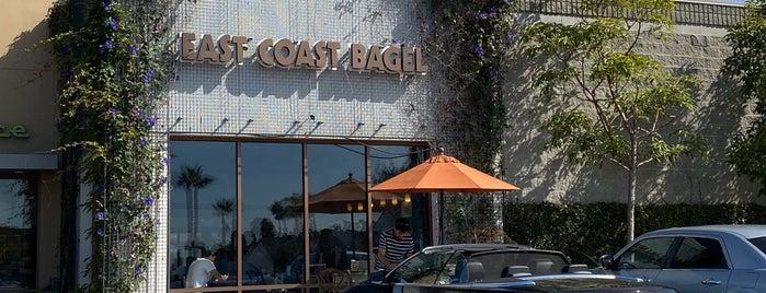 East Coast Bagel is one of Lugares favoritos de Greg.