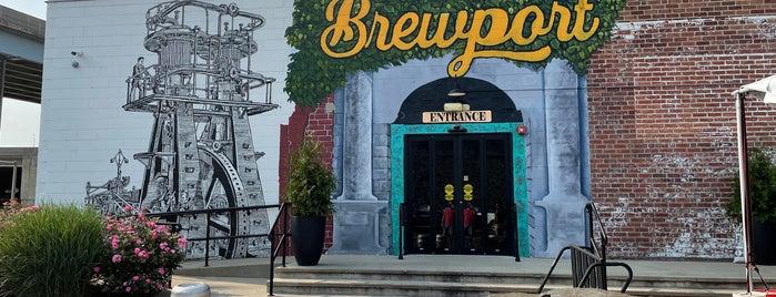 Brewport is one of Tempat yang Disukai Bonnie.