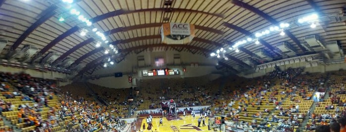 Cassell Coliseum is one of Virginia Tech.