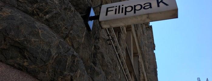 Filippa K is one of Helsinki.