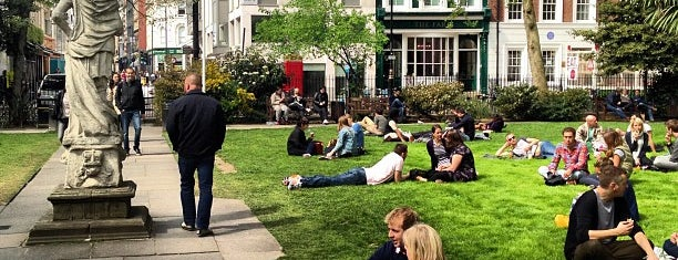 Soho Square is one of London to-do.