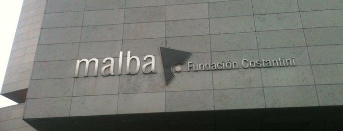 Museo de Arte Latinoamericano de Buenos Aires (MALBA) is one of BsAs.