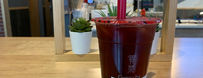 Gong Cha is one of John 님이 좋아한 장소.