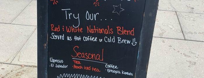 Zeke's Coffee is one of Washington DC.