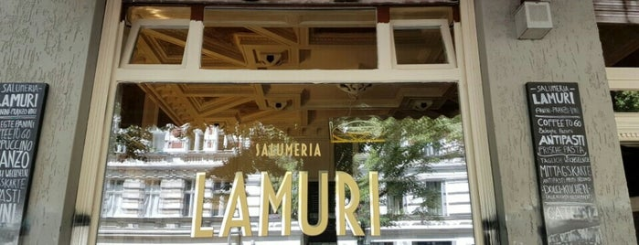 Salumeria Lamuri is one of Lugares favoritos de Jo.