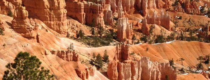 Брайс-Каньон is one of US National Parks.