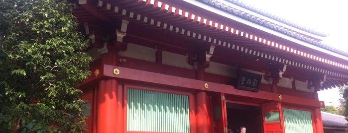 Senso-ji Temple is one of Tempat yang Disimpan ぜろ.