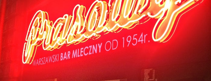 Bar Mleczny Prasowy is one of Hipster Places in Warsaw.