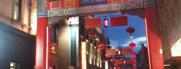 Chinatown is one of Australia and New Zealand.