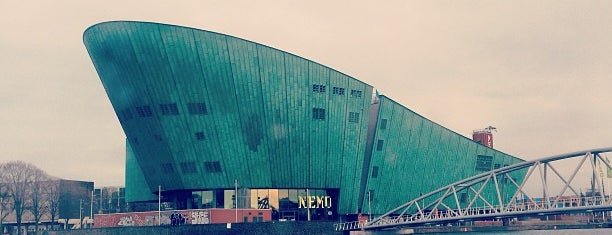 NEMO Science Museum is one of The Netherlands.