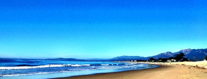 Carpinteria State Beach is one of La to sf.