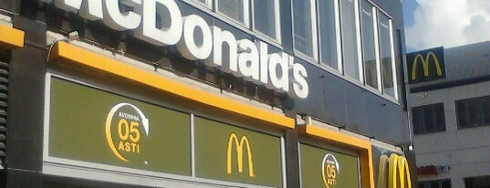 McDonald's is one of Хельсинки.