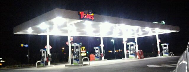 Tom's Gas & Convenience Store is one of Food and Drink.