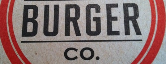 New York Burger Co. is one of NYC grub.