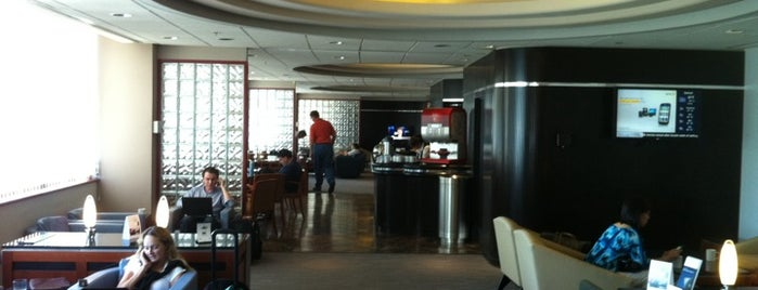 Delta Sky Club is one of Time.