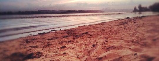 Пляж на Днепре is one of Tempat yang Disukai Ihor.