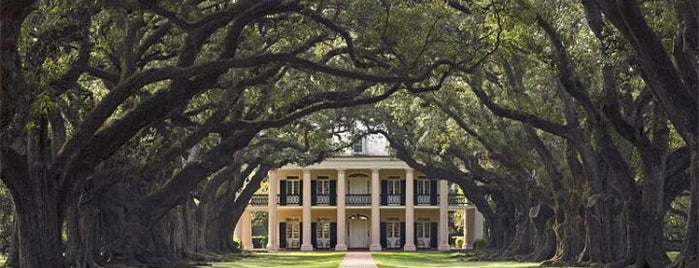 Oak Alley Plantation is one of NOLA.