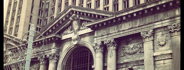 Michigan Central Station is one of Detroit.