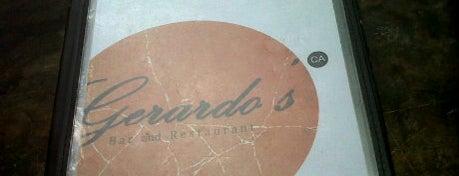 Gerardo's is one of Mark.