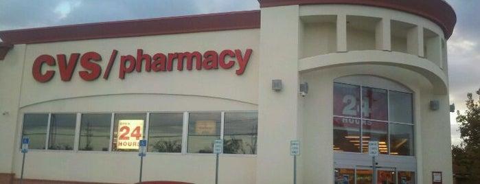 CVS pharmacy is one of Tempat yang Disukai Matt.