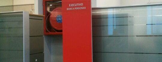 Banco Santander is one of Lieux qui ont plu à Patricio.