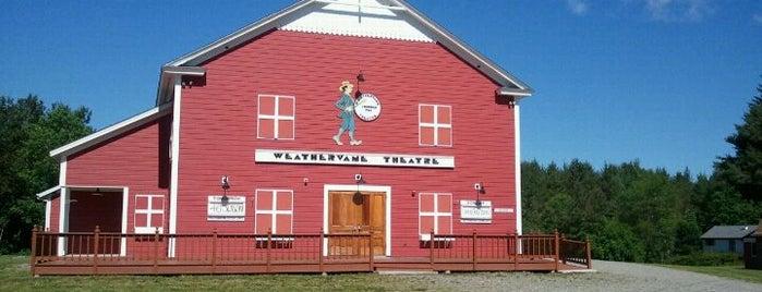 Weathervane Theatre is one of Orte, die Heidi gefallen.