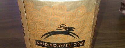 Kaldi's Coffee House is one of Coffeeshops & Cafes - No Chains Allowed.