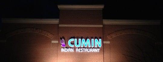 Cumin Indian Restaurant is one of Posti salvati di Arne.