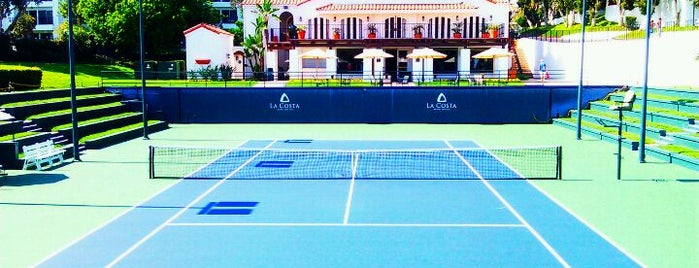 La Costa Tennis Center is one of Tempat yang Disimpan James.