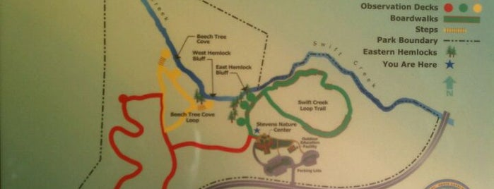 Hemlock Bluffs Nature Preserve is one of Must-Visit Hiking/Running Trails.