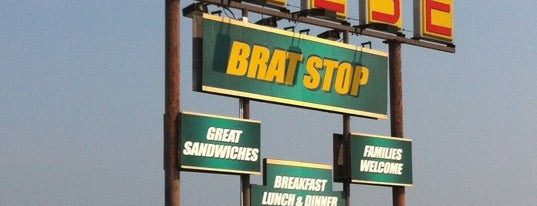 The Brat Stop is one of Andrew'in Beğendiği Mekanlar.