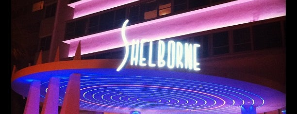 Shelborne South Beach is one of Spring Break 2012 – Miami.