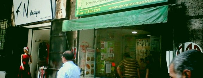 El Granero Del Goloso is one of Lugares veganos.