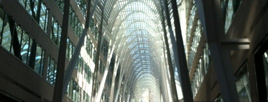 Brookfield Place is one of CAN Toronto Favourites.