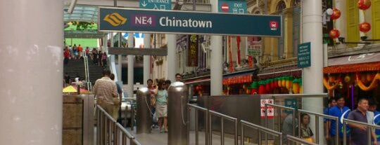 Chinatown MRT Interchange (NE4/DT19) is one of Orte, die Kevin gefallen.