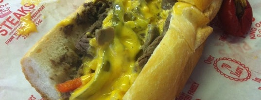 Pat's King of Steaks is one of Places I still need to check out.