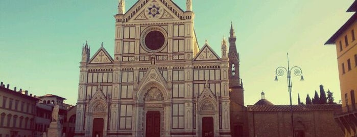 Basilica di Santa Croce is one of FLORENCE AND THE PLACES OF FAITH.