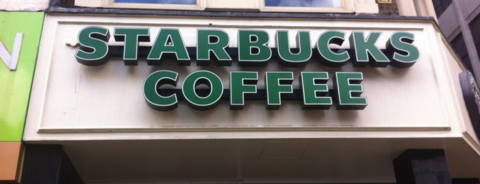 Starbucks is one of UK to-do list.