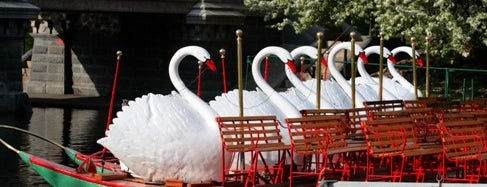 The Swan Boats is one of Beantown.