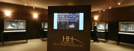 Salon International de la Haute Horlogerie is one of Swisstastique.
