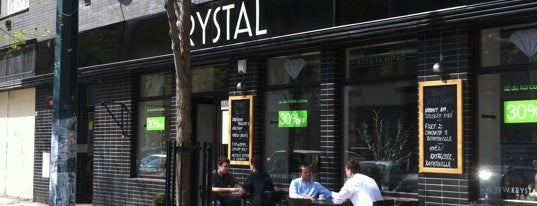 Krystal Bistro is one of Locais curtidos por Miloslav.