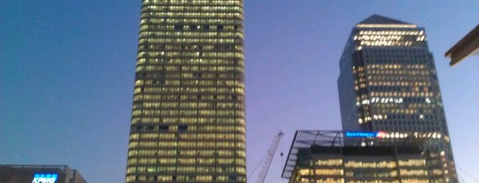 One Canada Square is one of London.