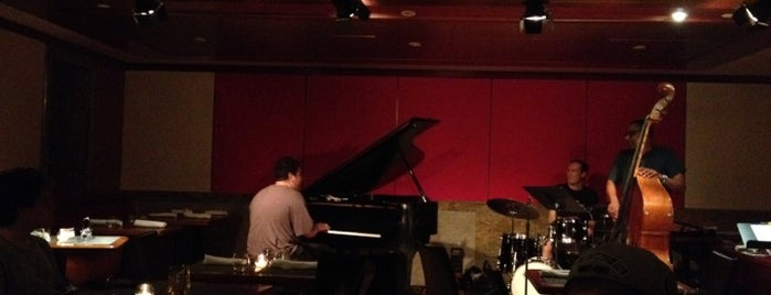 The Jazz Room at The Kitano is one of Bars To Try.